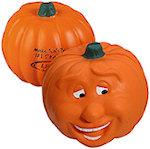 Pumpkin Smile Stress Balls